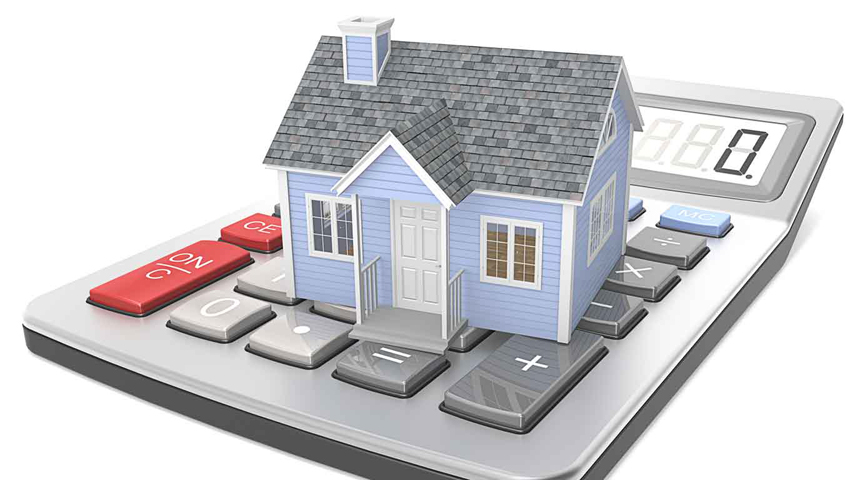 house and calculator