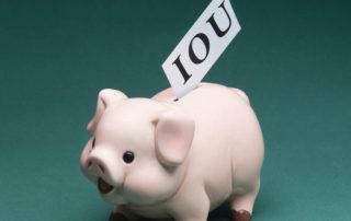 IOU into Piggybank