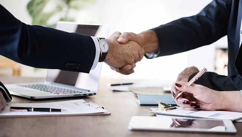 Business Agreement Handshake
