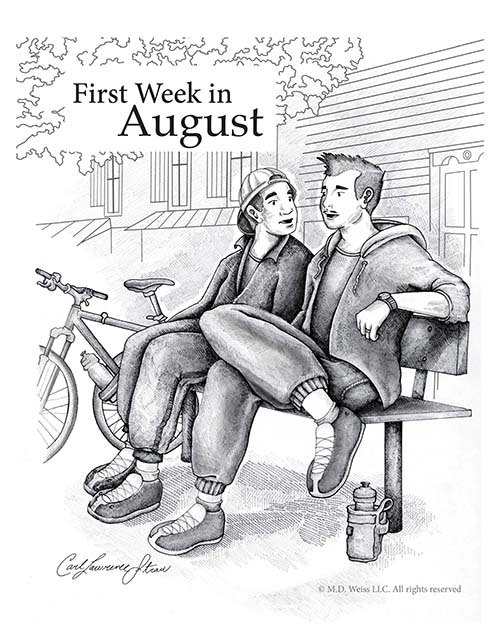 First Week in August cover art